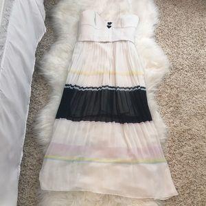 Nicholas accordion dress